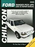 Ford Ranger Pick Ups 2000 2005 Repair Manual