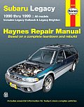 Subaru Legacy 1990 1999 Repair Maunual All Models