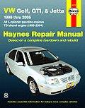 VW Golf, GTI, & Jetta, '99-'05 (Automotive Repair Manual)