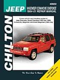 Chilton Repair Manual Jeep Wagoneer Commanche Cherokee 1984-2001