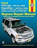 Ford Pick-Ups 1997 Thru 2003 Expedition 1997 Thru 2009 (Haynes Repair Manual)