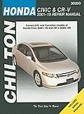 Honda Civic & CRV 2001 2010