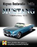 Mustang: 1964 1/2 Thru 1970