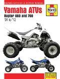 Yamaha Atvs Raptor 660 and 700: '01 to '12