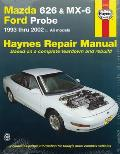 Mazda 626 & MX-6 & Ford Probe: 1993 Thru 2002 - All Models