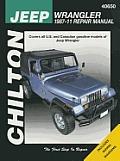 Chilton's Jeep Wrangler 1987-11 Repair Manual