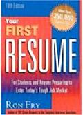 Your First Resume 5th Edition