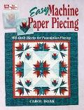 Easy Machine Paper Piecing 65 Quilt Blocks for Foundation Piecing