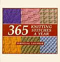 365 Knitting Stiches A Year