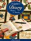 Quilters Diary Written In Stitches