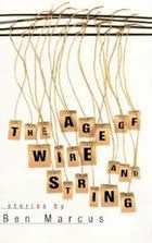 The Age of Wire and String (American Literature) Cover