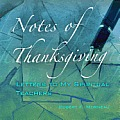 Notes of Thanksgiving: Letters to My Spiritual Teachers