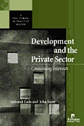 Development And the Private Sector