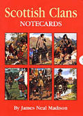 Scottish Clans Notecards [With 8 Envelopes and Folder]