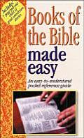 Books of the Bible Made Easy: An Easy to Understand Pocket Ref Guide [With Chart]