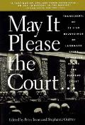 May it please the court :the most significant oral arguments made before the Supreme Court since 1955