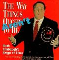 The Way Things Aren't:  Rush Limbaugh's Reign of Error Cover