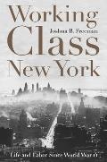 Working-Class New York: Life and Labor Since World War II Cover