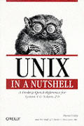Unix In A Nutshell 2nd Edition