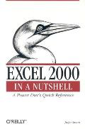 Excel 2000 in a Nutshell: A Power User's Quick Reference (In a Nutshell)