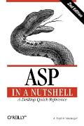 ASP in a Nutshell (In a Nutshell) Cover