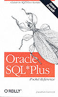 Oracle SQL* Plus Pocket Reference