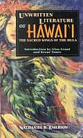 Unwritten Literature of Hawaii the Sacre