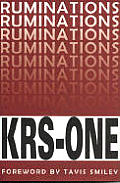 Ruminations KRS ONE