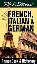 Rick Steves French Italian & German Phra