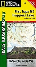 Flat Tops Ne / Trapper Lake: Trails Illustrated - Recreation Maps