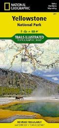 Yellowstone National Park: Trails Illustrated - National Park Maps
