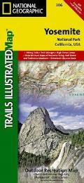Yosemite National Park: Trails Illustrated - National Park Maps
