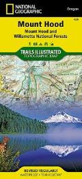 Mount Hood, Mount Hood & Willamette National Forests: Trails Illustrated - Recreation Maps