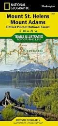 Mount St. Helens/Mount Adams (Gifford-Pinchot National Forest): Trails Illustrated - Recreation Maps