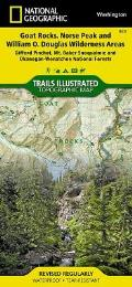 Goat Rocks & Norse Peak Wilderness Area, Gifford-Pinchot & Okanogan-Wenatchee National Forests: Trails Illustrated - Recreation Maps