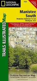 Manistee National Forest, South (Trails Illustrated)