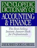 Encyclopedic Dictionary Of Accounting &