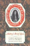 Nonpareil Book #77: Aubrey's Brief Lives