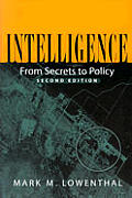 Intelligence: From Secrets to Policy Cover