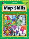 Basic Skills Map Skills Grade 4 (99 Edition)