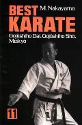 Best Karate, Vol.11: Gojushiho Dai, Gojushiho Sho, Meikyo (Best Karate)