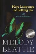 More Language of Letting Go: 366 New Meditations by Melody Beattie (Hazelden Meditation Series) Cover