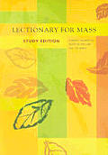 Lectionary For Mass Study Edition