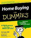 Home Buying For Dummies 1st Edition
