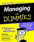 Managing For Dummies 1st Edition