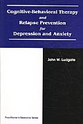 Cognitive Behavioral Therapy & Relapse Prevention