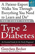 The First Year: Type 2 Diabetes: An Essential Guide for the Newly Diagnosed (First Year) Cover