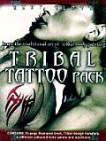 Tribal Tattoo Pack Learn the Ancient Art of Tribal Body Decoration With Transfers & Paint Brush & Paint