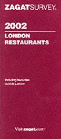 Zagat 2002 London Restaurants