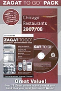 Zagat to Go Pack Chicago 2008